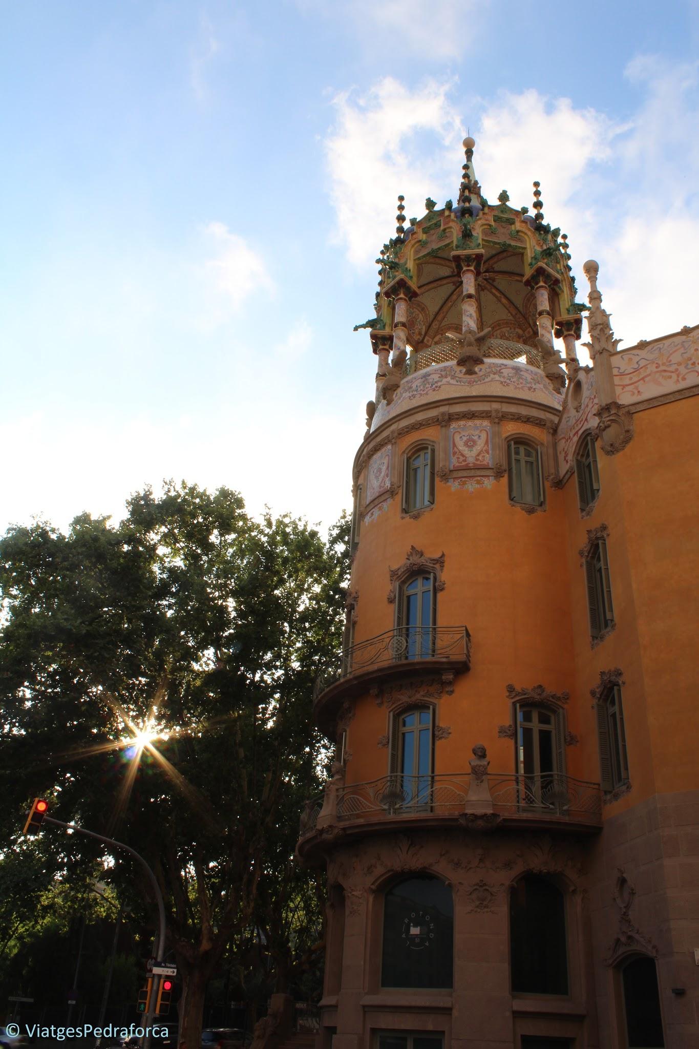 Ruta del modernisme, Barcelona, Catalunya, Adolf Ruiz i Casamitjana