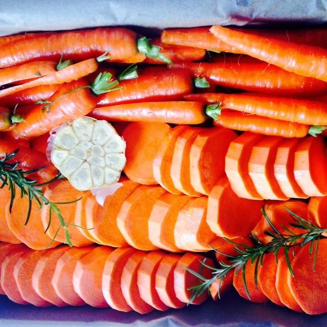 bataty z marchewką