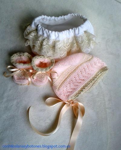 conhiloslanasybotones - faldón rosa