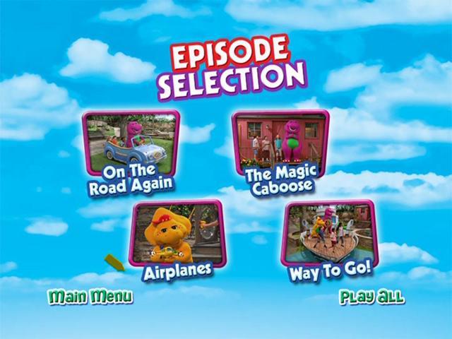 Barney Planes Trains y Cars DVDR NTSC Español Latino Descargar 2012