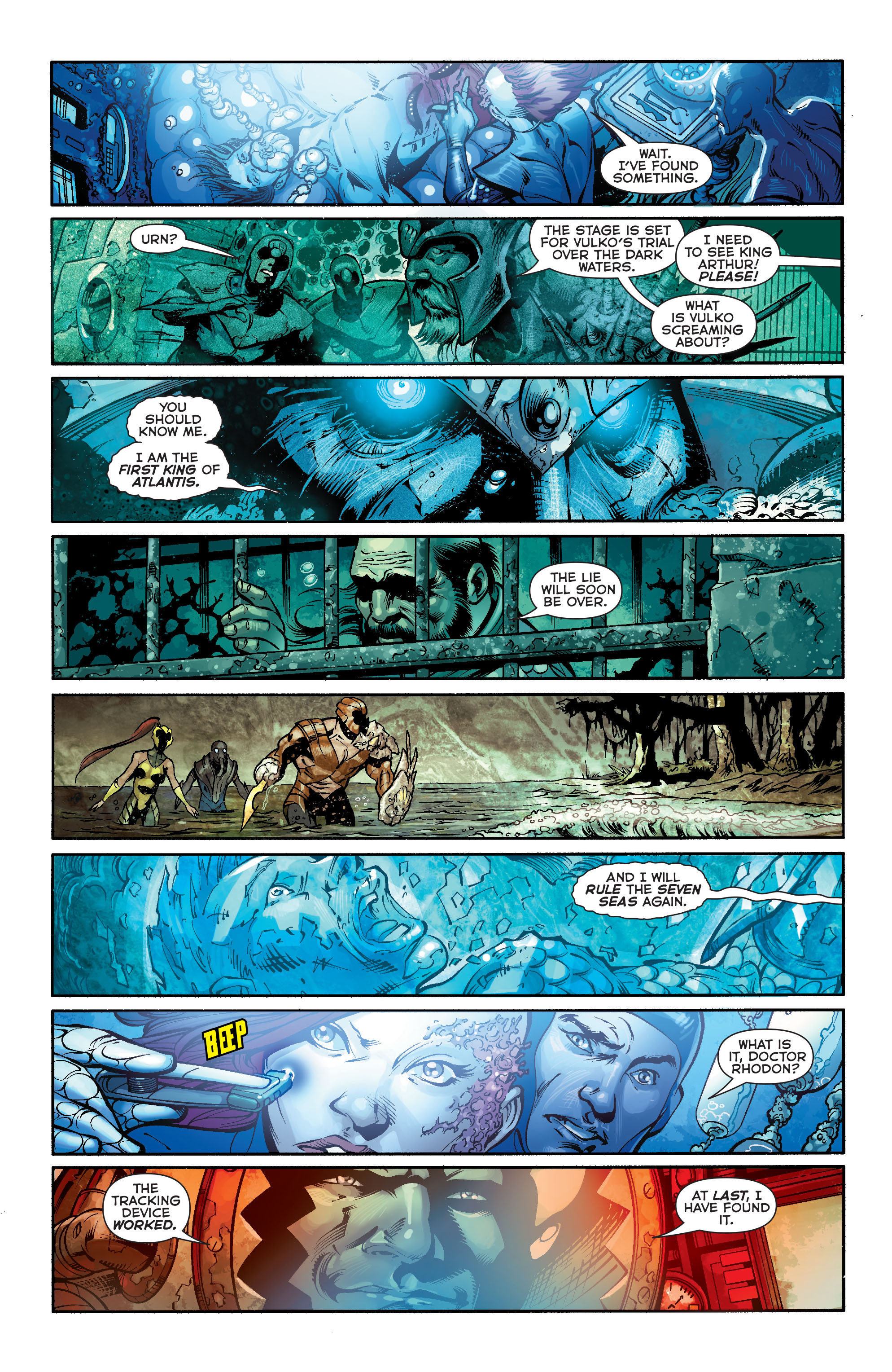 Read online Aquaman (2011) comic -  Issue #21 - 19
