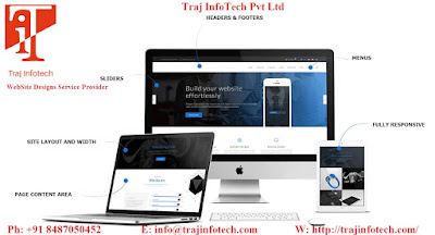 WebSite Design - Traj InfoTech