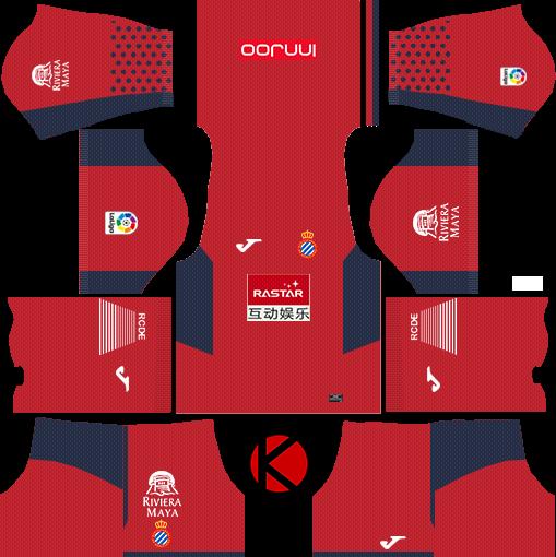 374024095 RCD Espanyol 2017/18 - Dream League Soccer Kits - Kuchalana