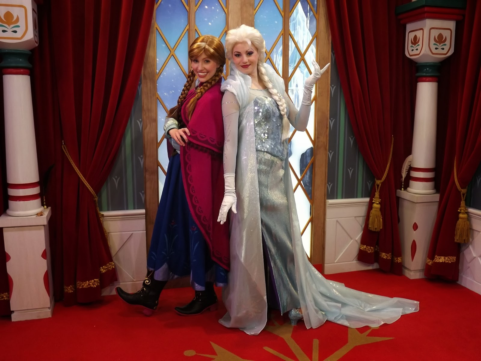 disney world where to meet anna and elsa