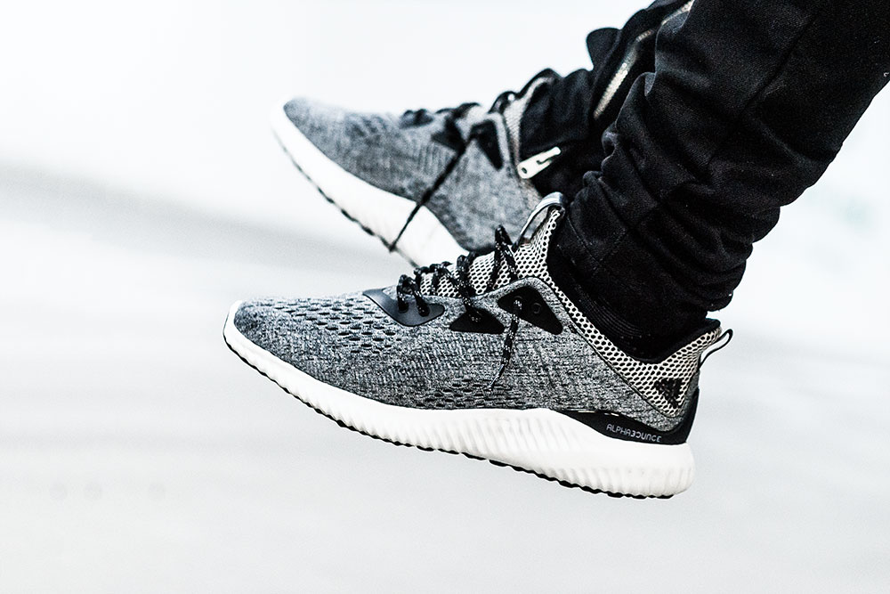 Adidas AlphaBOUNCE Grey Sneakers by Tom Cunningham