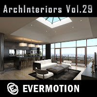 Evermotion Archinteriors vol.29室內3D模型第29季下載