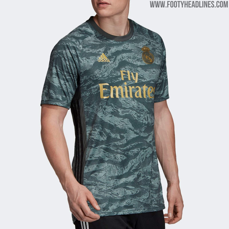 on sale 7f236 a2462 Real Madrid 19-20 Goalkeeper Away Kit Released - Footy Headlines