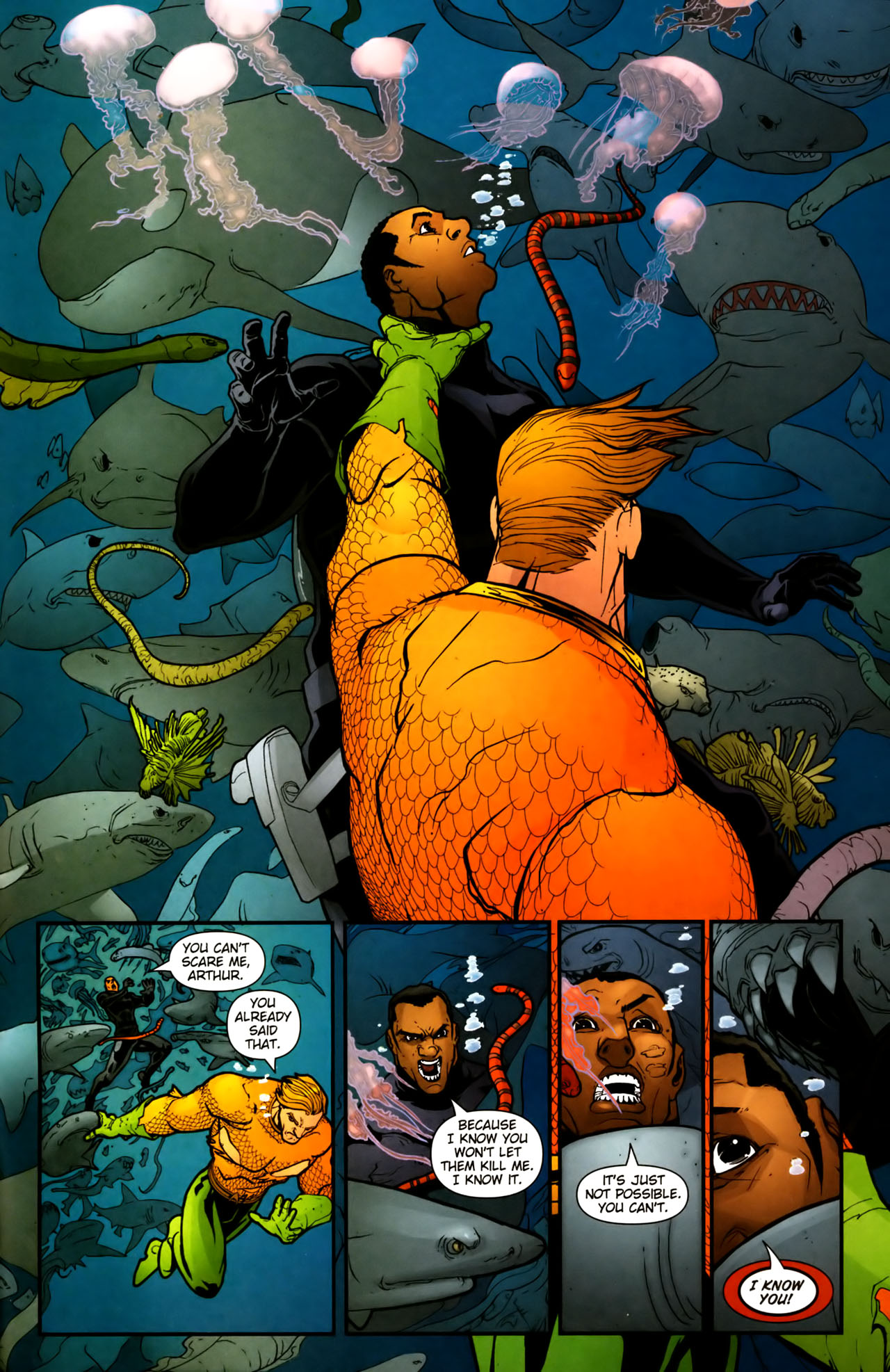 Read online Aquaman (2003) comic -  Issue #39 - 22