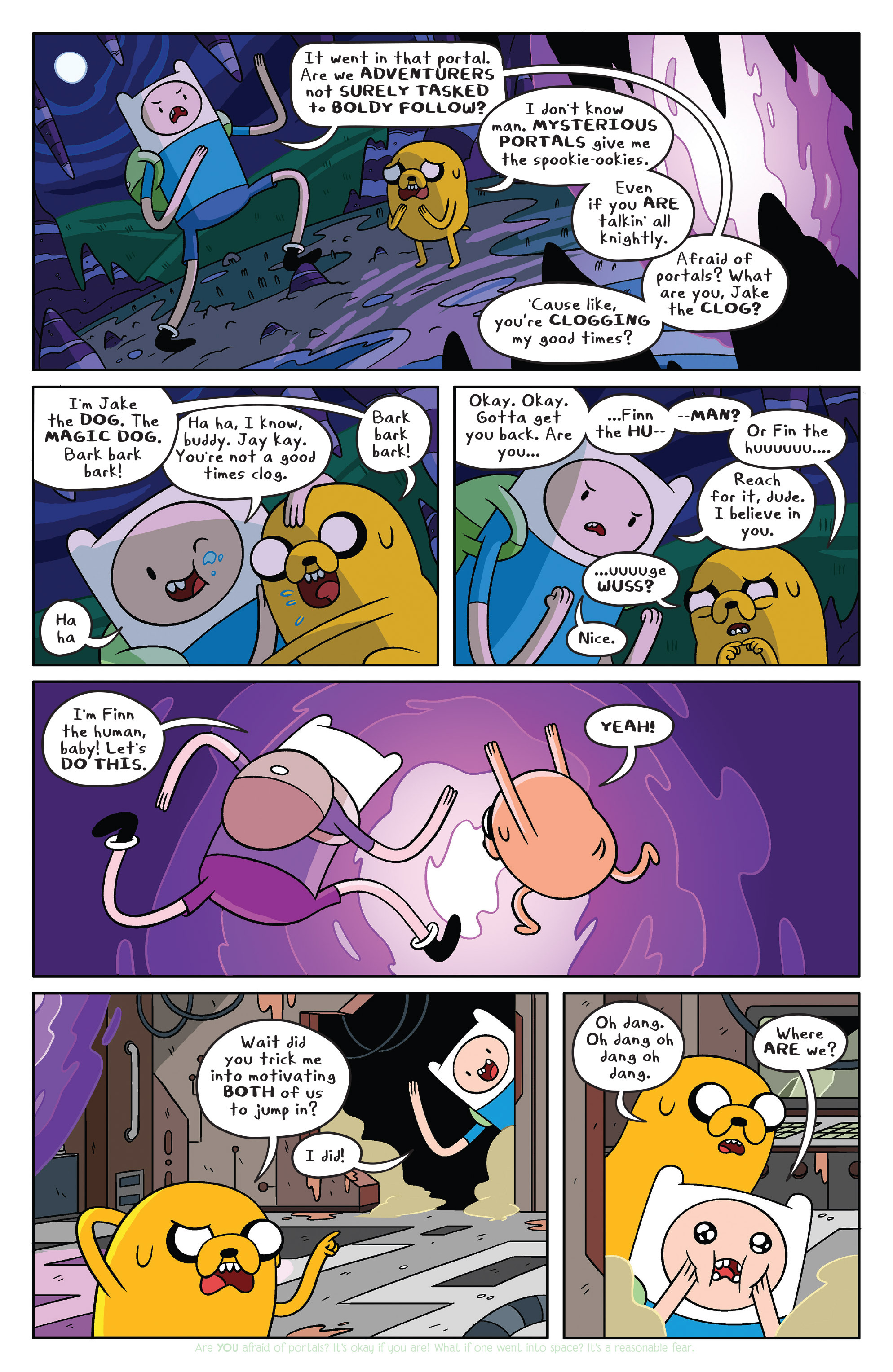 Read online Adventure Time comic -  Issue #36 - 3