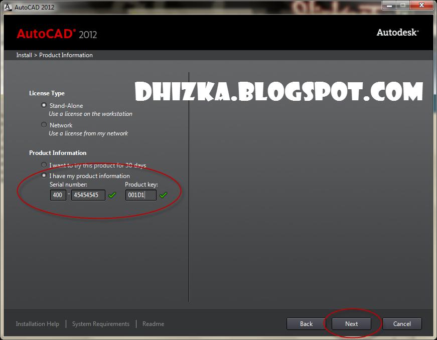 Autodesk Autocad 2013 Product Key