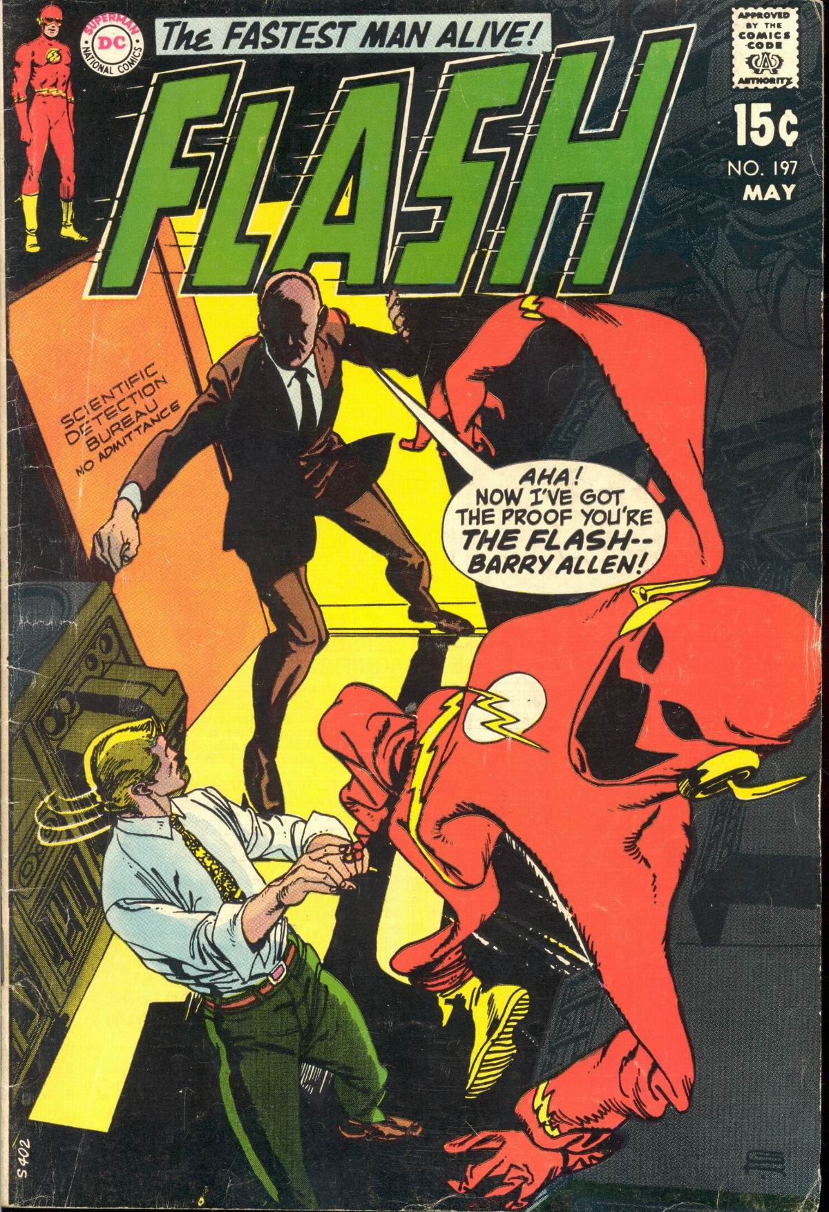 The Flash (1959) 197 Page 1