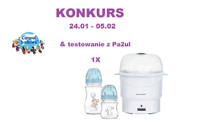 konkurs z canpol babies - wygraj sterylizator. + wyniki !!!