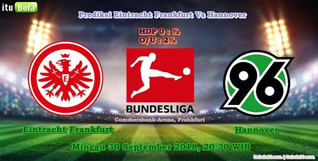 Prediksi Eintracht Frankfurt Vs Hannover - ituBola