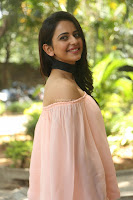 Rakul Preet Singh in lovely Pink Crop Top and Black Trousers at Jaya Janaki Nayaka success meet 039.JPG