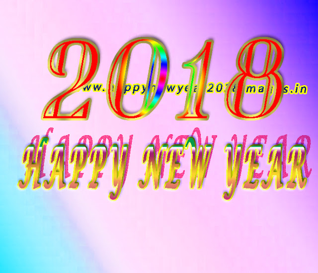 Happy New Year 2018 wishes for facebook status