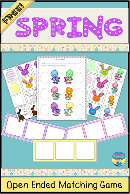 Have some free, printable spring fun from Looks Like Language!