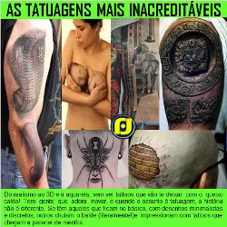 Tatuagens Inacreditáveis