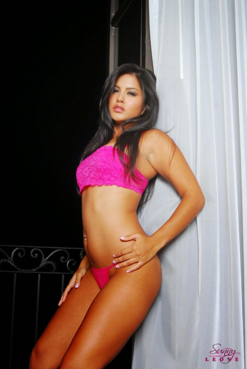 Sunny Leone Gorgeous Pink Bra - Sunny Leone - The Sex Goddess-5073