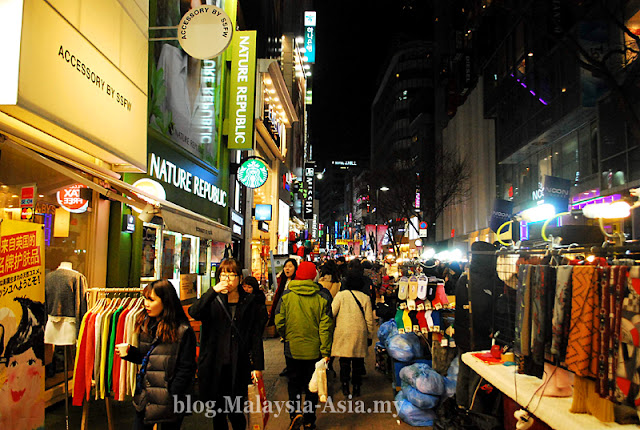 Myeongdong Night Shopping
