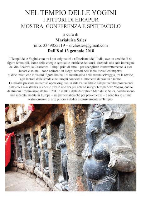 64 Yogini Tempio Hirapur Orissa Shakta Tantra Marialuisa Sales
