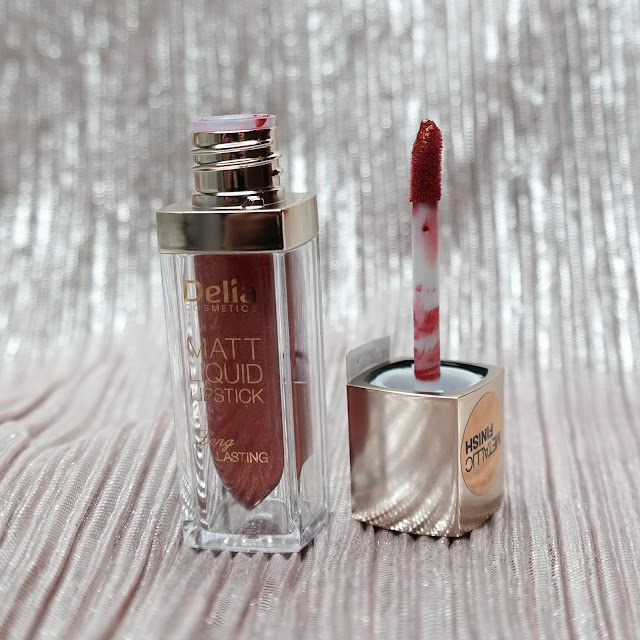 Delia Matt Liquid Lipstick Metallic Finish 106 Jennifer