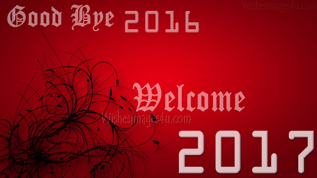Goodbye 2016 Welcome Happy New Year 2017 HD ImagesDownload For Desktop