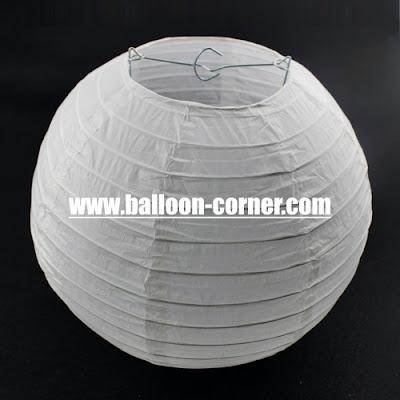 Lampion Gantung Kertas Diameter 30 Cm