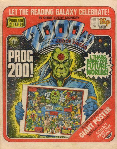 2000 AD Prog 200, Tharg