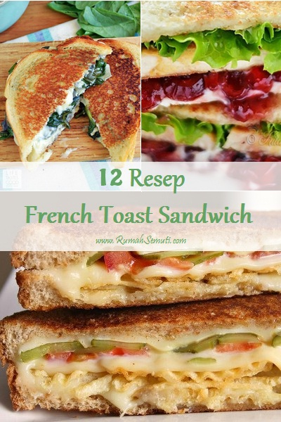 12 Resep French Toast Sandwich