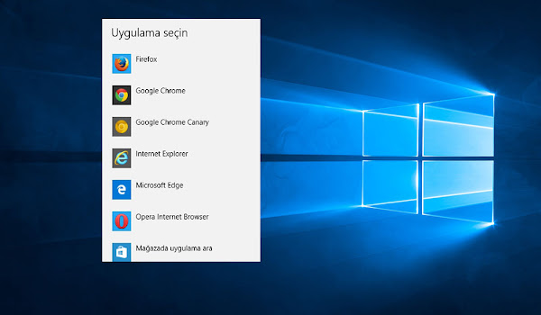 Windows 10 Varsayılan Edge Tarayıcısı Nasıl Değiştirilir?