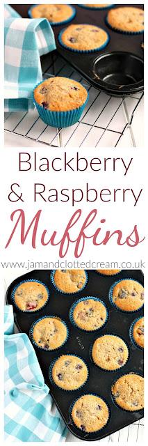 Blackberry & Raspberry Muffins
