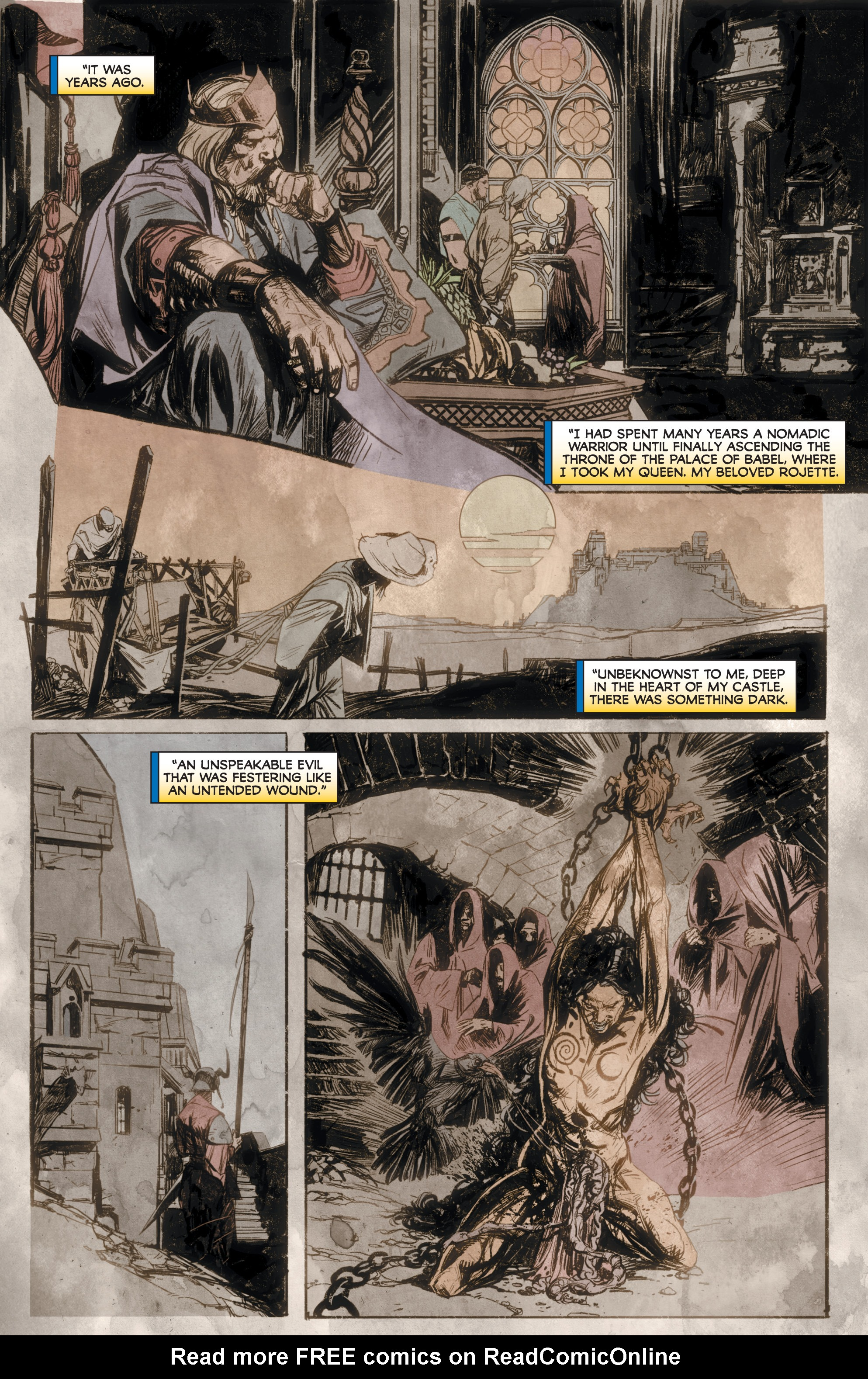 Read online Rapture comic -  Issue #2 - 8