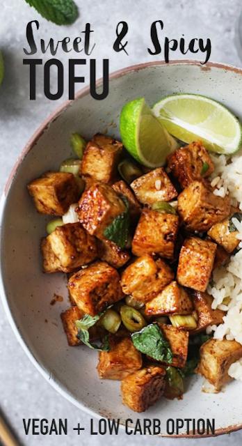 Sweet & Spicy Tofu