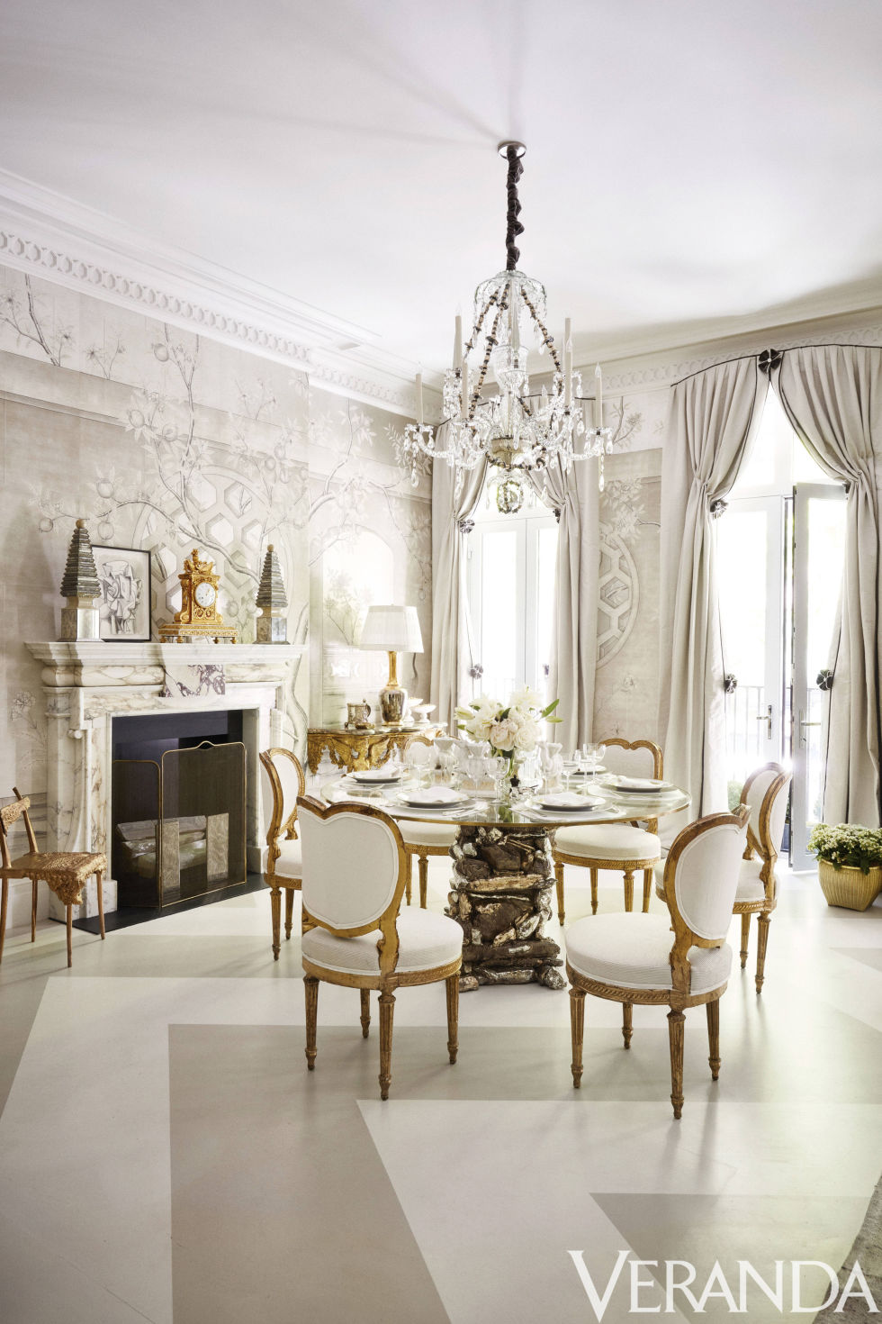 Beautiful, White, Dining Room Design | Cool Chic Style Fashion