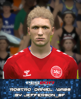 PES 2017 Faces Dani Wass by FaceEditor Jefferson_SF