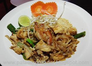 Soho thai restaurante Santiago pad thai