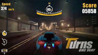Screenshots of the Turns one way Racing for Android tablet, phone.
