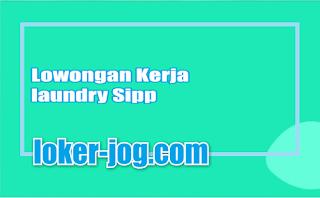 Lowongan Kerja laundry Sipp
