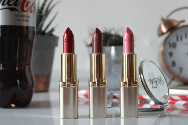 Diet Coke Beauty Break with L'Oreal Colour Riche Lipstick