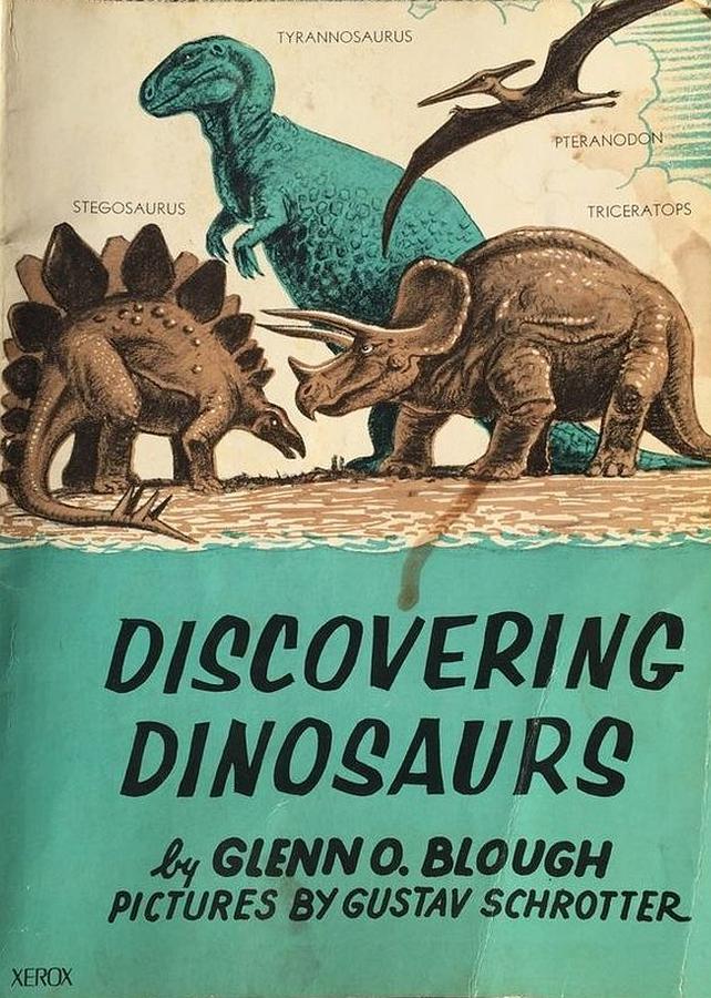 Vintage Dinosaur Art: Discovering Dinosaurs