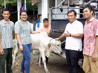 GL Zoo Sumbang Hewan Ternak ke Panti III Sayap Ibu