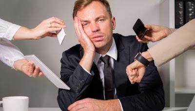 6 Cara Atasi Rasa Stres Karena Pekerjaan