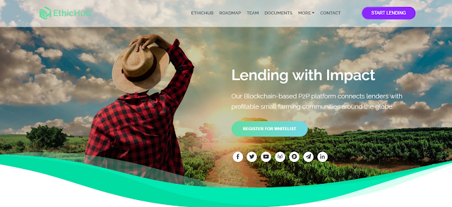 EthicHub Token Review- P2P Platform connects lenders with Farming communities