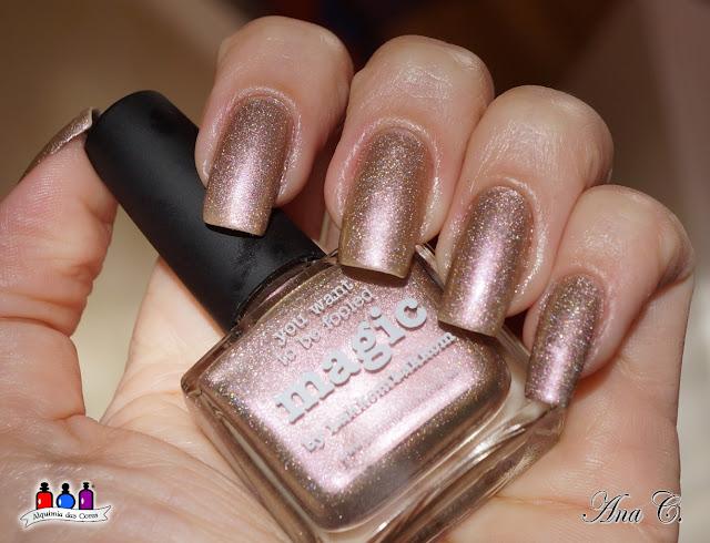 Picture Polish Magic, rose gold nail polish
