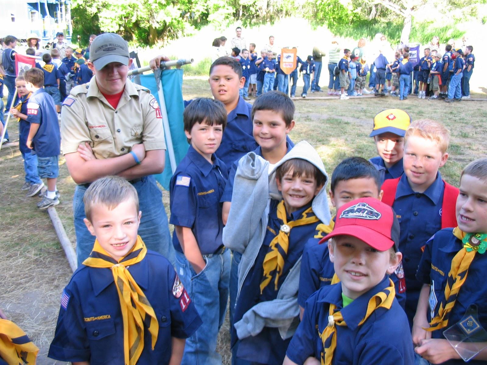 Alpine District Cub Scouts March