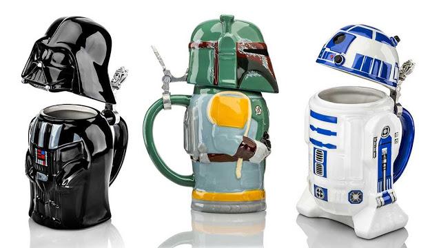 Canecas para cervejas Star Wars