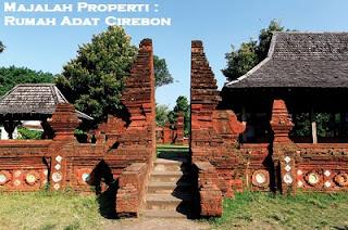 Desain Bentuk Rumah Adat Cirebon dan Penjelasannya, Keraton Cirebon Jawa Barat