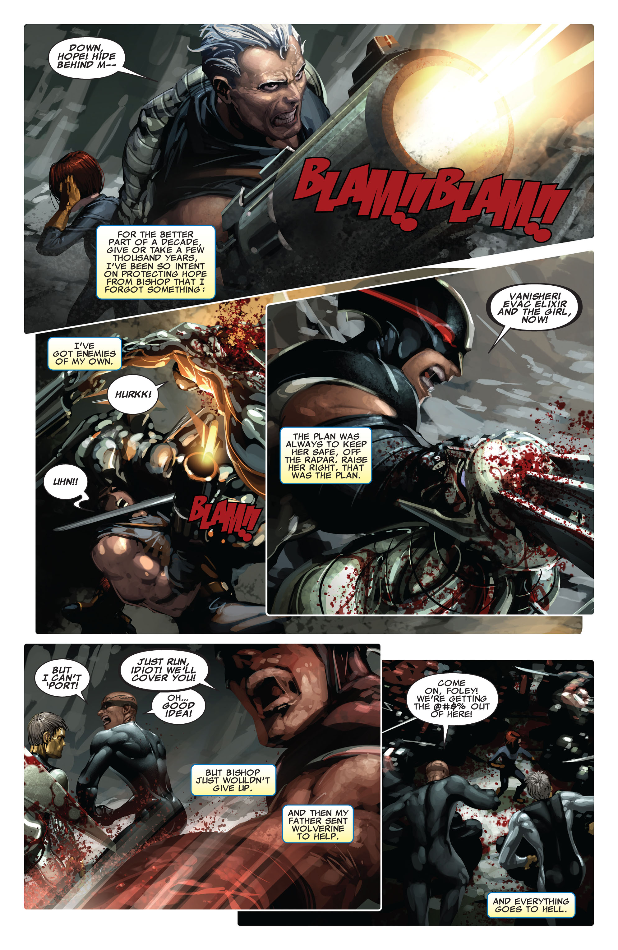 Read online X-Force (2008) comic -  Issue #14 - 6