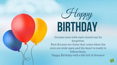Birthday congratulations for a dear friend