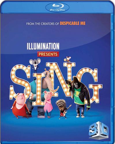 Sing [2016] [BD50] [Latino] [3D]